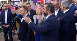 Czarzasty, Biedroń, Zandberg, Iwaniak. Lewica w Płocku walczy o głosy