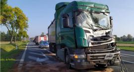 Ciężarówki zderzyły się w Stropkowie