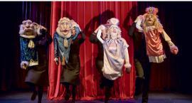 Obsypany nagrodami lalkowy Molier w auli Małachowianki