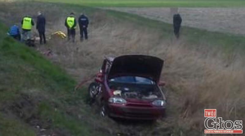 Pożary, letni kierowca zginął przejeździe kolejowym - zdjęcie, fotografia