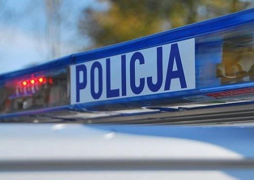 Policja, latek znaleziony martwy - zdjęcie, fotografia