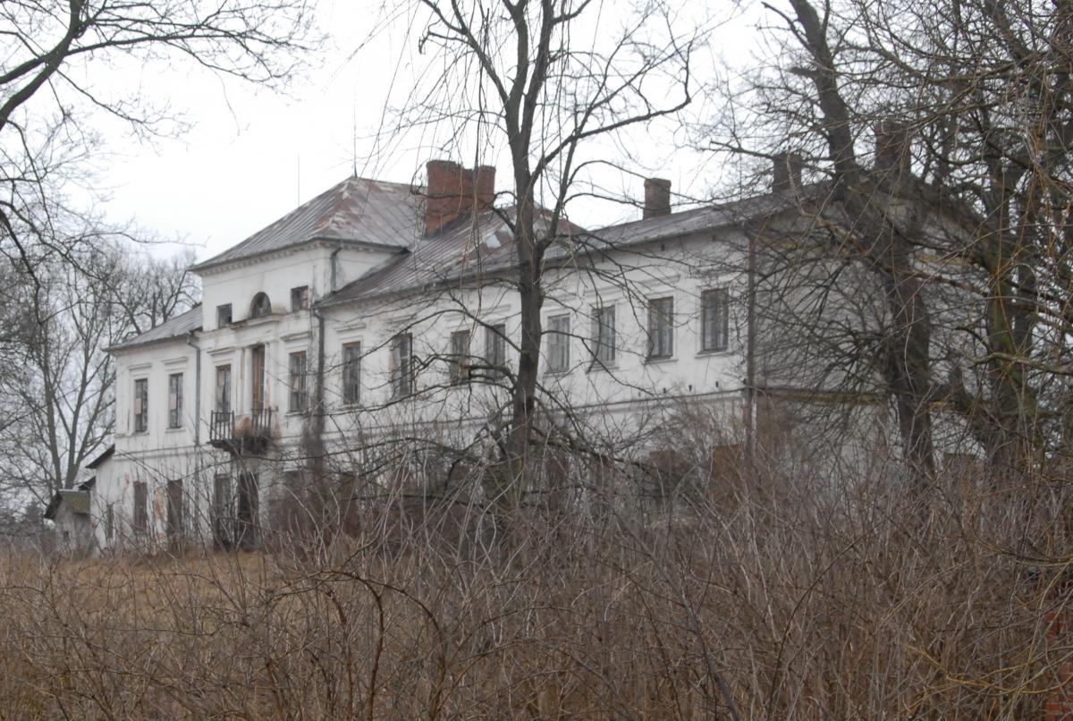 Zabytki, chętnych pałac Sobieszynie - zdjęcie, fotografia