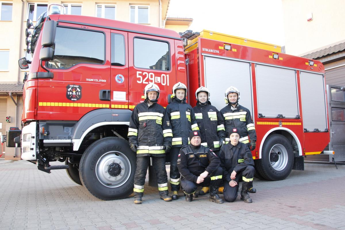 Straż, Ochotnicy mają strażacki - zdjęcie, fotografia