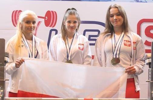 Sporty siłowe, Nasze dziewczyny medalem mistrzostw świata - zdjęcie, fotografia