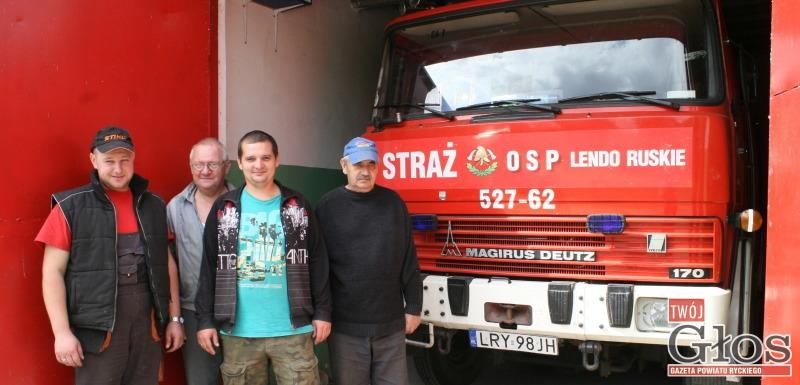Straż, Lendzie Ruskim kończy - zdjęcie, fotografia
