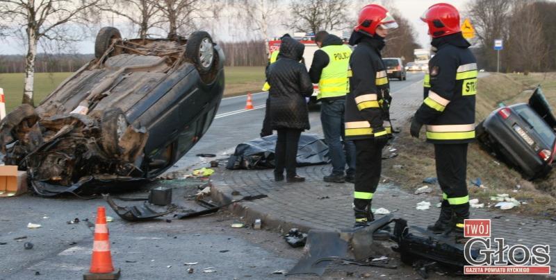 Pożary, latek zginął wypadku Sobieszynem - zdjęcie, fotografia