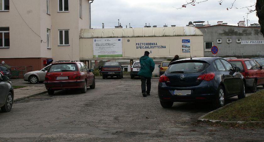 Inwestycje, Niebawem ruszyć budowa parkingu szpitalu - zdjęcie, fotografia