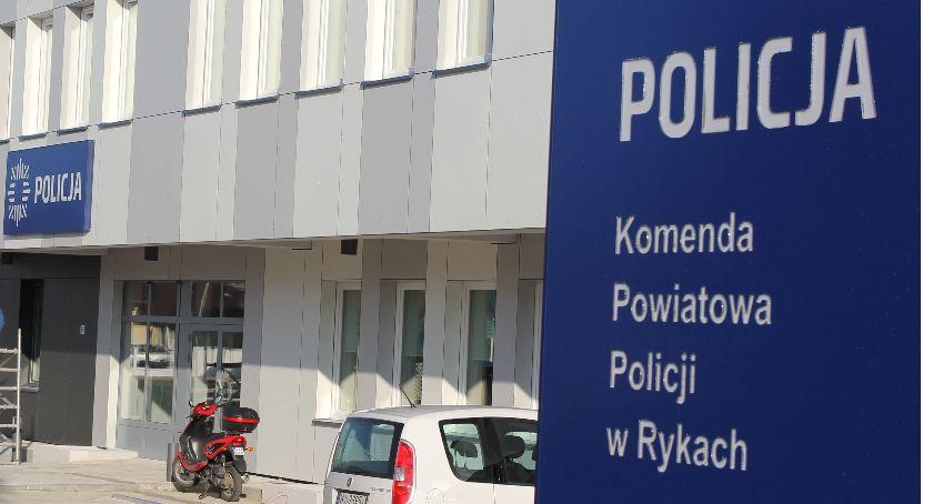 Policja, Były zastępca komendanta ryckiej policji usłyszał zarzuty - zdjęcie, fotografia