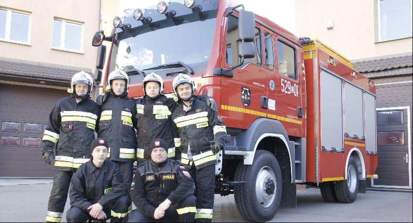 Straż, Strażacy oficjalnie dostaną bojowy - zdjęcie, fotografia
