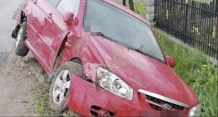 Kryminalne, imprezy odjechał swoim samochodem pijany - zdjęcie, fotografia