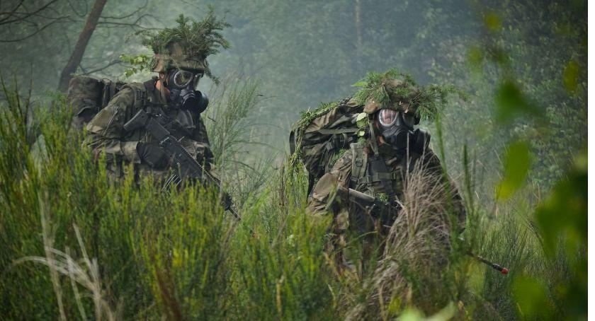 Wojsko, Intensywny weekend szkoleniowy dęblińskich Terytorialsów - zdjęcie, fotografia