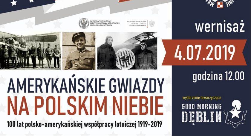 Archiwum, Amerykańskie Gwiazdy polskim niebie - zdjęcie, fotografia