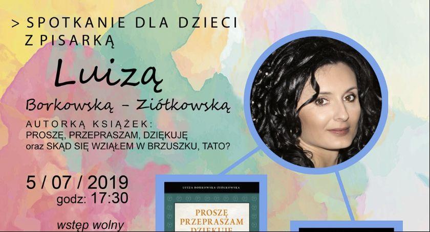Archiwum, Spotkanie pisarką Luizą Borkowską Ziółkowską - zdjęcie, fotografia