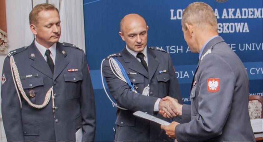 Wojsko, Oficerowie pożegnali Szkołą Orląt - zdjęcie, fotografia