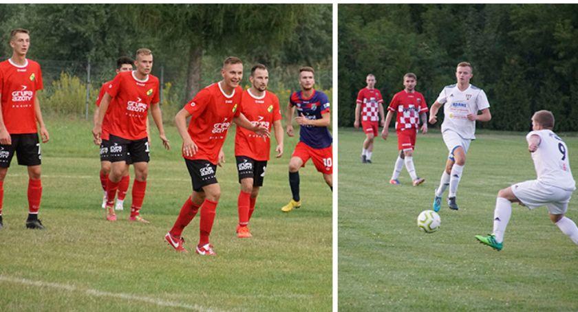 Piłka nożna, Polesiem Mazowsze POMem drugiej kolejce - zdjęcie, fotografia