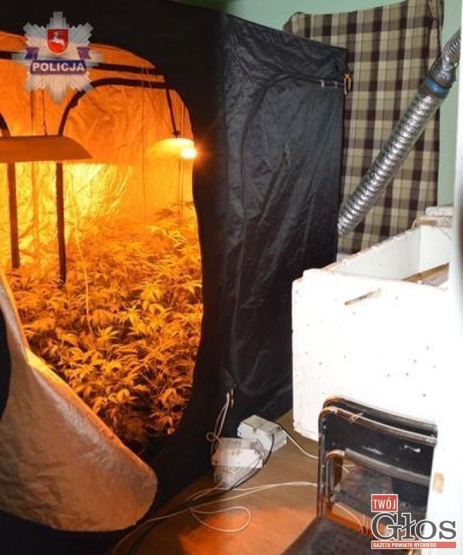 Pożary, Zmienili fabrykę narkotyków - zdjęcie, fotografia