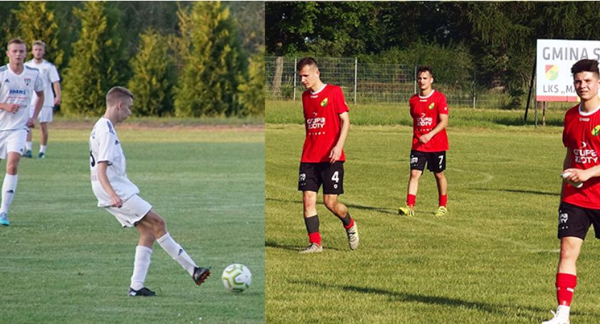 Piłka nożna, Derby powiatu ryckiego Mazowsze Stężyca - zdjęcie, fotografia