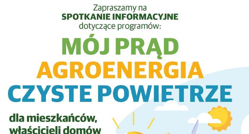 Zaproszenie, Ruszył program prąd Dowiedz uzyskać dotację fotowoltaikę - zdjęcie, fotografia