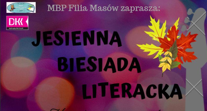 Zaproszenie, Dęblin Jesienna biesiada literacka - zdjęcie, fotografia