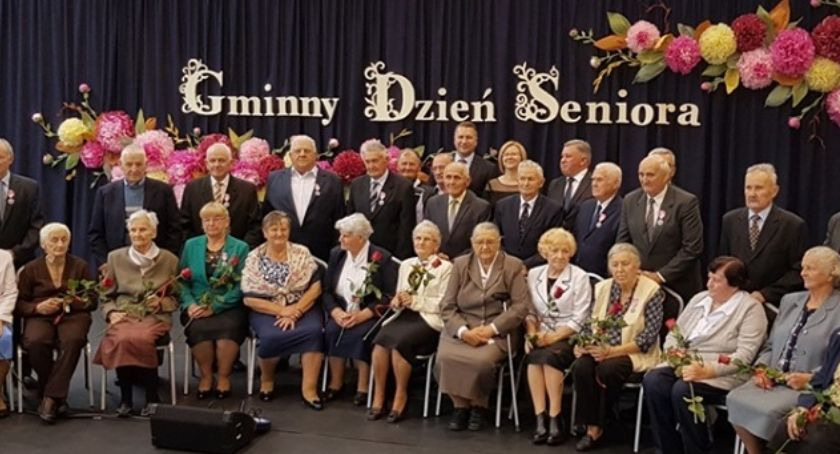 Społeczeństwo, Kłoczew Sprawdź świętował Złote Diamentowe - zdjęcie, fotografia