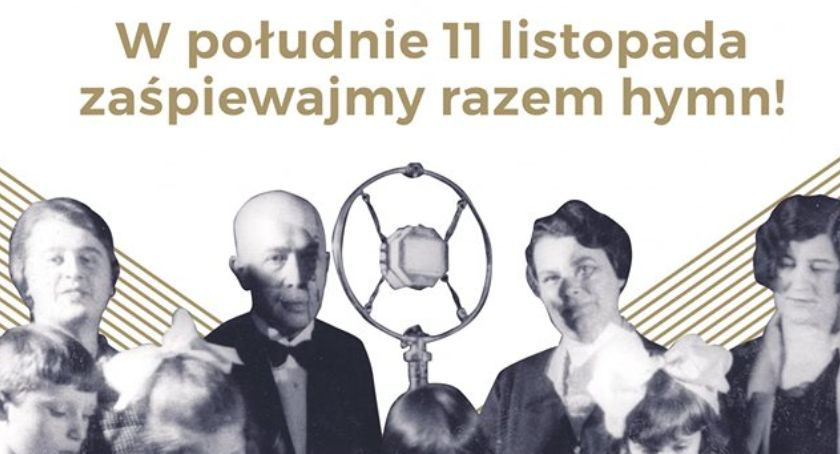 Archiwum, Niepodległa hymnu! - zdjęcie, fotografia