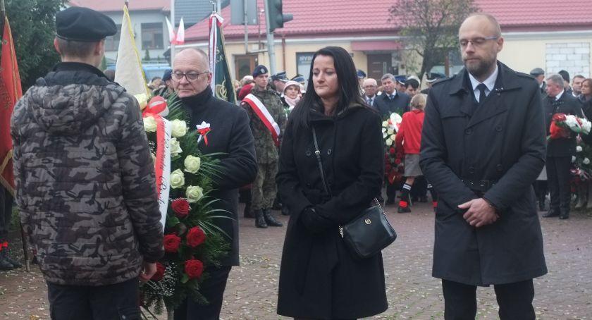Uroczystości, Powiat uczcił niepodległą - zdjęcie, fotografia