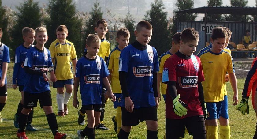 Piłka nożna, Piłkarskie nadzieje powiatu skończyły rundę jesienną - zdjęcie, fotografia