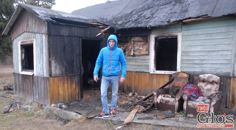 Pożary, Uratowali pożaru schorowanego sąsiada - zdjęcie, fotografia