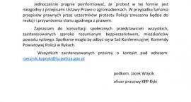Policja: Nie będzie zgody na łamanie prawa