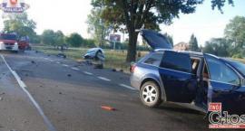 Kierowca toyoty zginął na miejscu