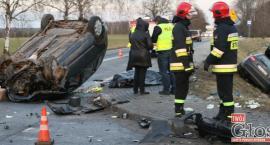 52-latek zginął w wypadku pod Sobieszynem