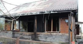 Spłonął dom rodziny Domańskich. Potrzebne jest wsparcie