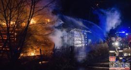 Spłonął dom czteroosobowej rodziny