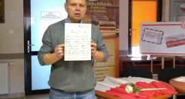 Teczka Sztubaka i list od Piłsudskiego
