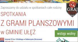 Spotkania z grami planszowymi w gminie Ułęż