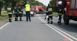 Groźny wypadek trasie Moszczanka - Kock