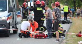 Wypadek między Leopoldowem a Rososzą