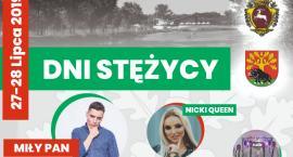Dni Stężycy 2019. Gwiazdy: Miły Pan i Nicki Queen
