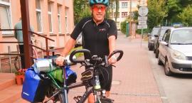 Radny pojechał rowerem nad Bałtyk