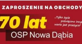 70-te urodziny OSP Nowa Dąbia i nowy sztandar
