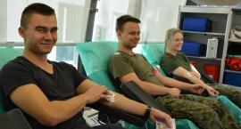 Dęblin - Oddali 24 litry krwi