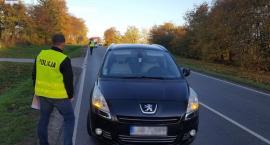 Wypadek na drodze krajowej nr 48. Nie żyje 72-letnia kobieta