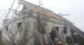 Potrzebne ekipy do odbudowy domu