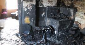 Pożar domu w Krasnoglinach – nie żyje jedna osoba