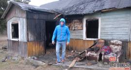 Uratowali z pożaru schorowanego sąsiada