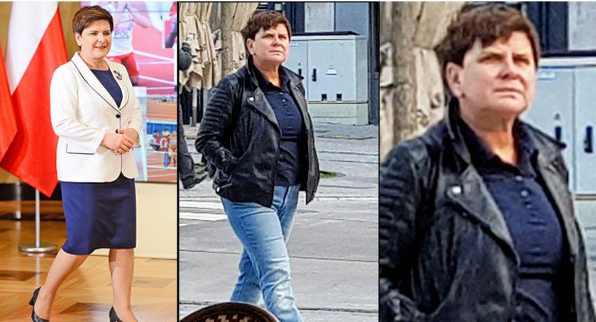 Beata Szydło pozbyła się broszki. W Brukseli wygląda jak rasowa rockmenka