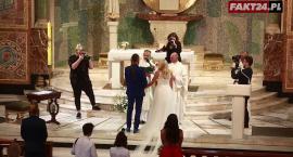 Marysia Sadowska zaśpiewała na własnym ślubie. Zobacz, relację z ceremonii