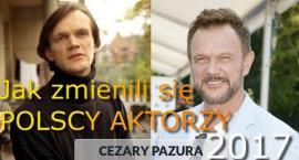 Polscy aktorzy kiedyś i dziś. Zobacz, jak zmienili się na przestrzeni lat!
