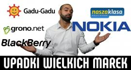 Marny koniec wielkich marek. Sprawdź, dlaczego upadły: Nasza-klasa, Nokia, Gadu-Gadu