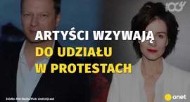 Znani aktorzy apelują o przyłączenie się do protestu o zawetowanie ustaw sądowych